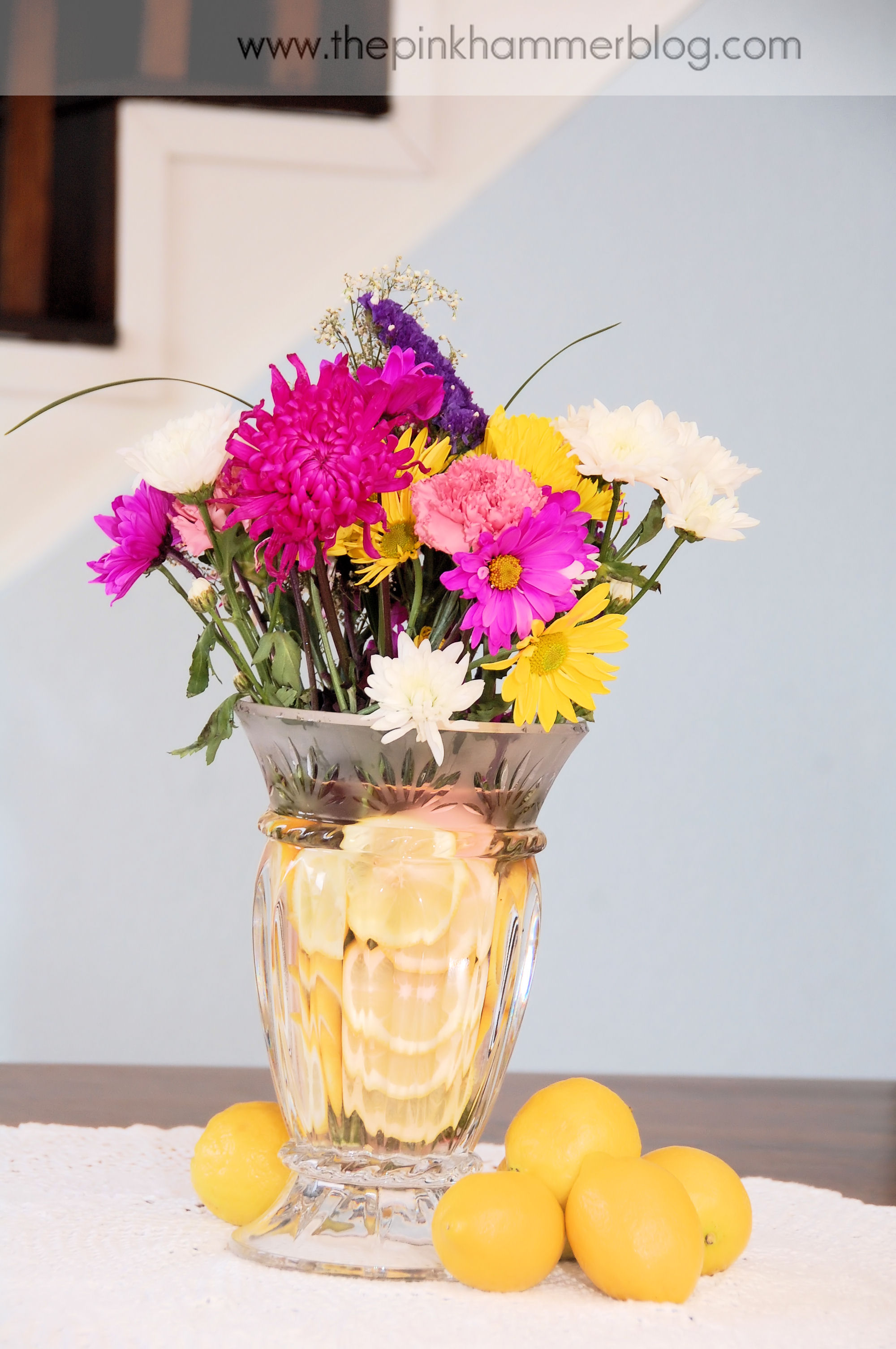 A fruitful centerpiece diy unique floral arrangement