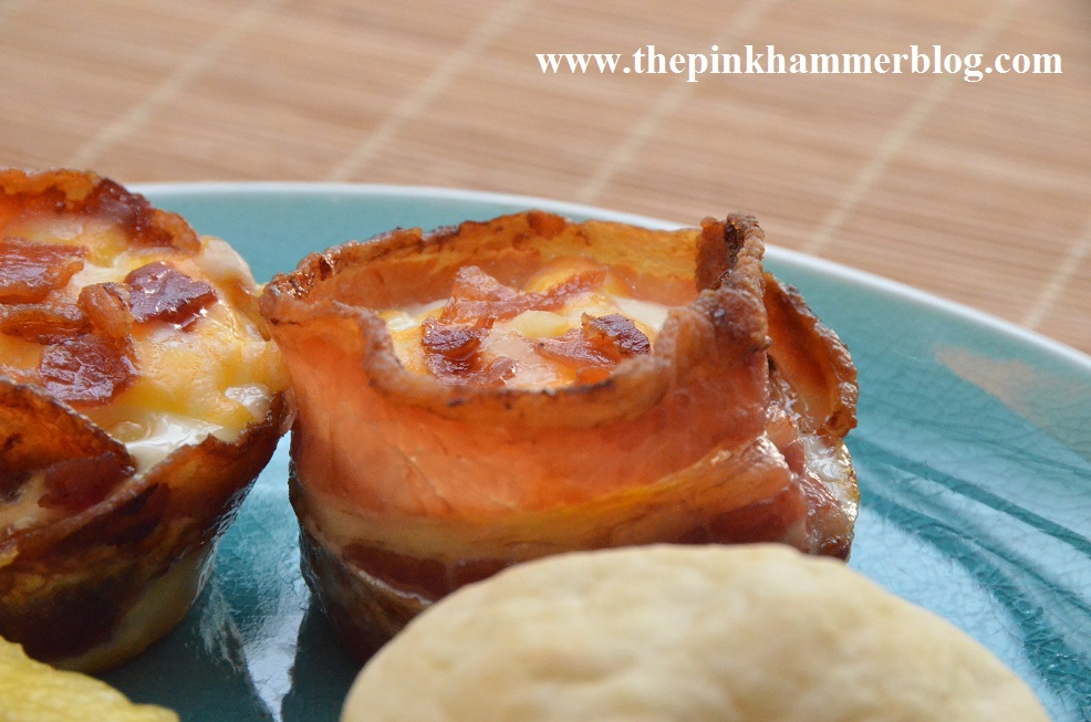 how to make bacon cups