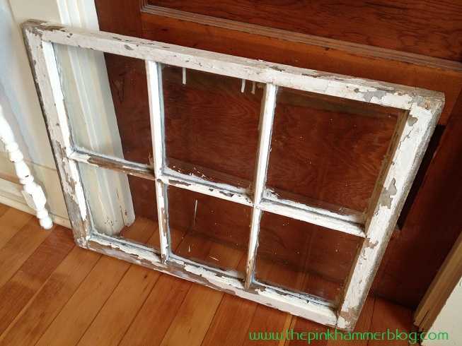 Window Frame Wall Art old window = new picture frame. | wall art diy | the pink hammer blog