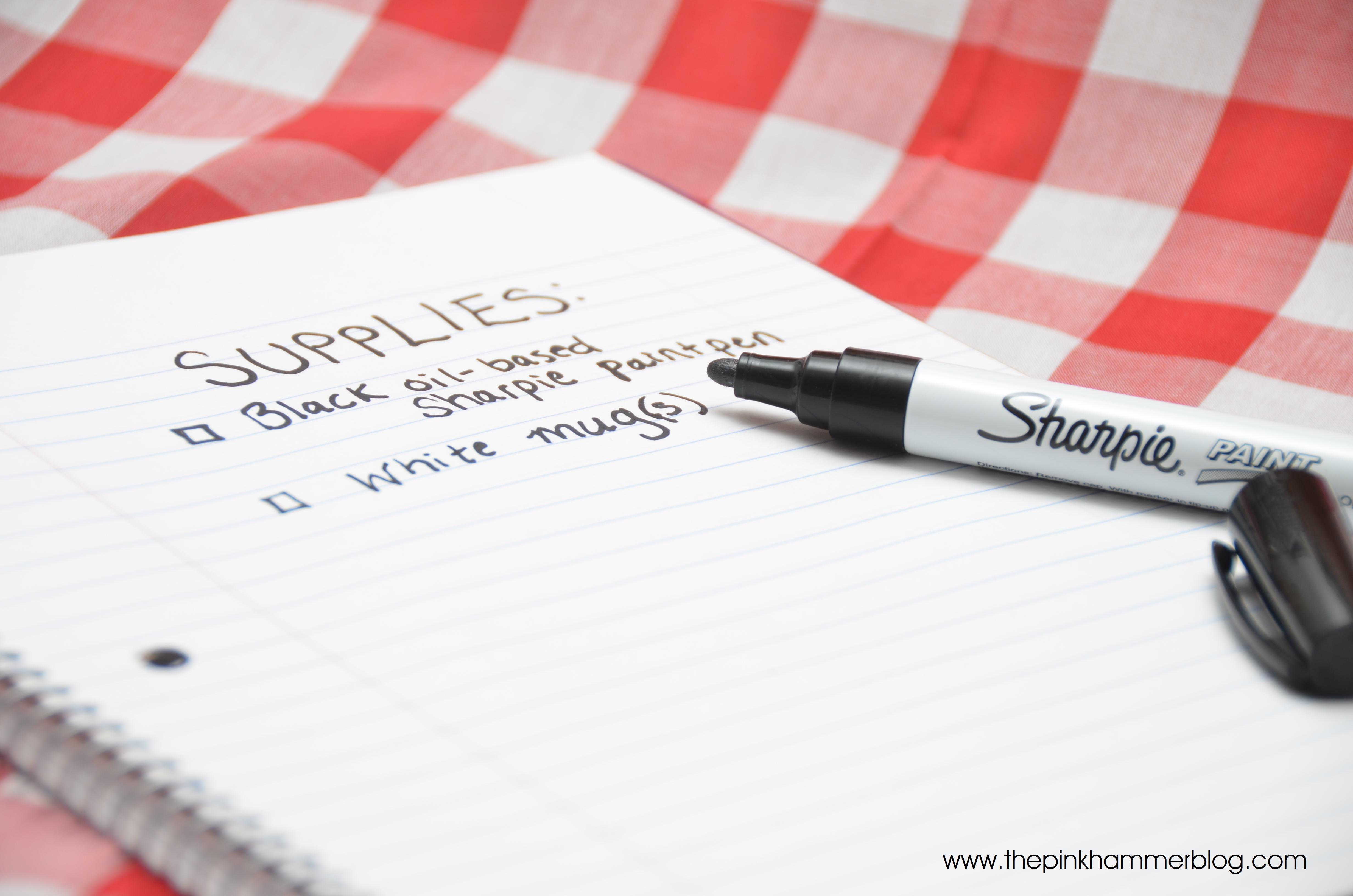 Craft ideas with sharpies - Black Sharpie Paint Marker