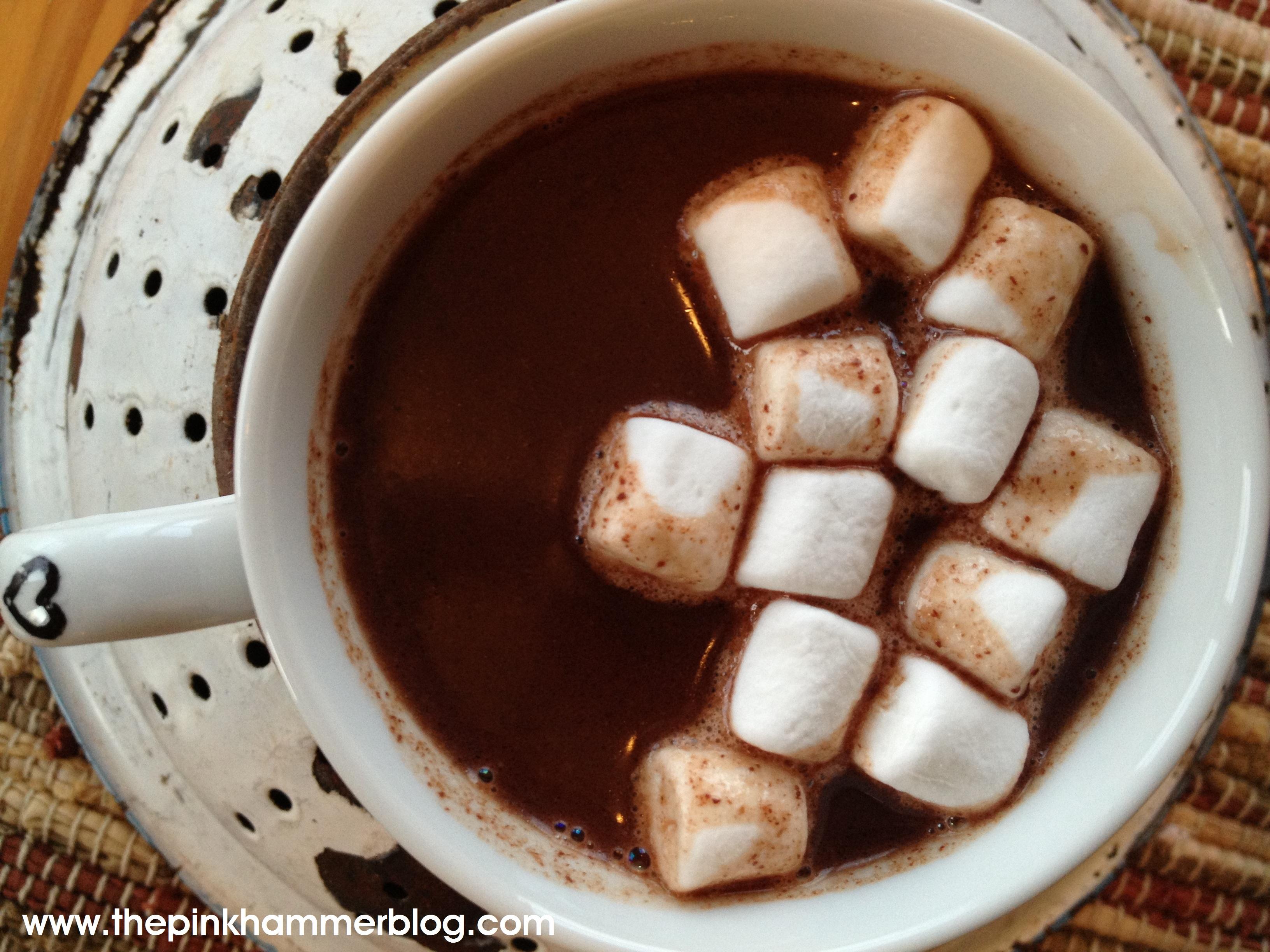 Polar Express Hot Cocoa | Recipe | The Pink Hammer Blog